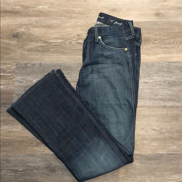 7 For All Mankind Denim - 7 For All Mankind A-Pocket Flare Leg Jeans.